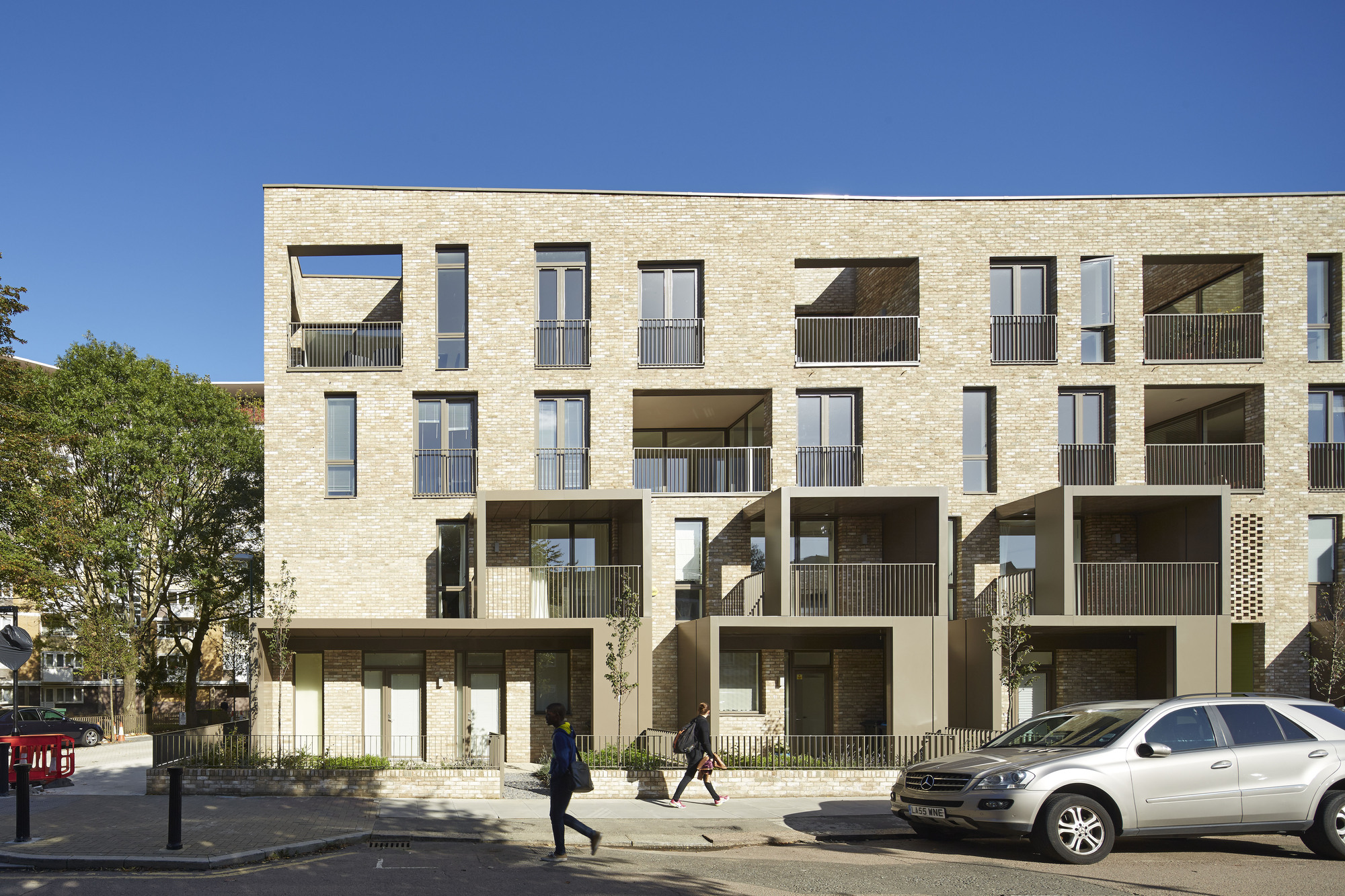 Ely court alison brooks architects archdaily for Cout plan architecte