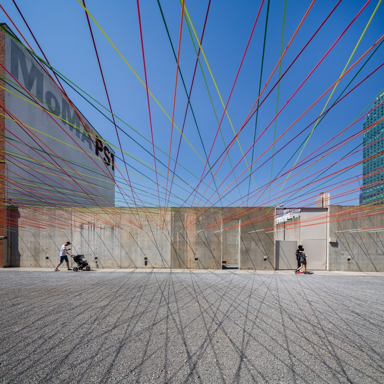 MoMA PS1 YAP 2016 - Weaving the Courtyard / Escobedo Soliz Studio, © Rafael Gamo