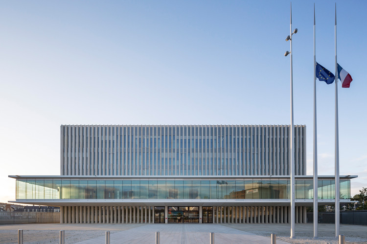 New Law Courts Baumschlager Eberle Architectes Atelier