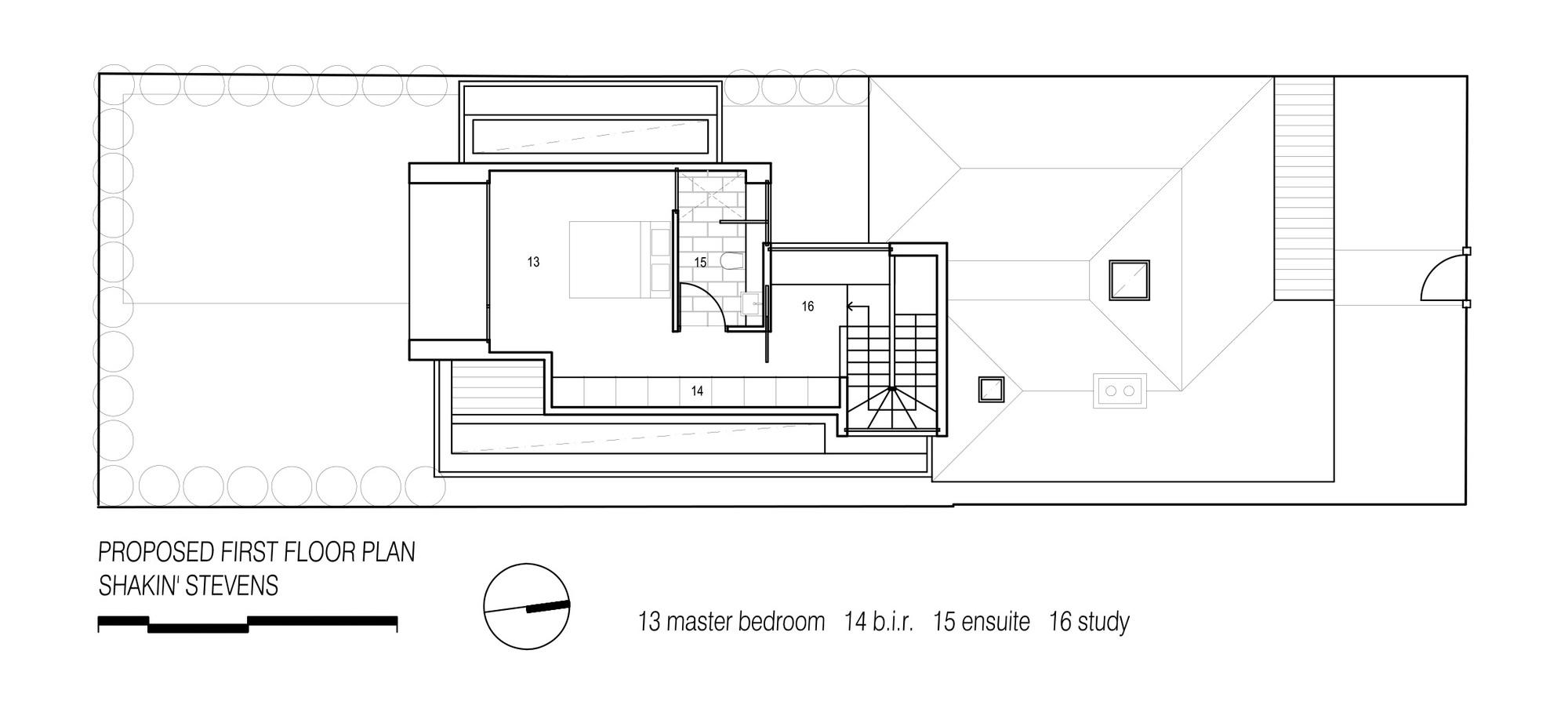 Gallery of shakin 39 stevens residence matt gibson for X2 residency floor plan