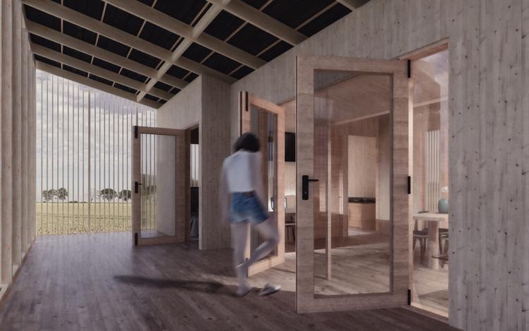 Casa Corredor / Universidad San Sebastián. Image Cortesía de Construye Solar