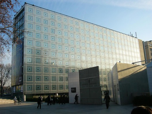 Institut du Monde Arabe. Image © <a href='http://ift.tt/2uxPd8u user roryrory</a> licensed under <a href='http://ift.tt/2az3P8J BY-SA 2.0</a>