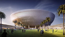 Perkins+Will's Raised Bowl Design to be the Largest Stadium in the UAE