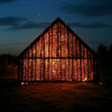 """Project Meganom's Yuri Grigoryan: """"Freedom is When You Realize that Anything is Possible"""" Barn, Nikolo-Lenivets, Kaluga District, Russia, 2006. Image © Yuri Grigoryan"""