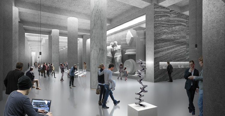 Masterplan and renovation of The Pushkin State Museum of Fine Arts (ongoing). Image Courtesy of Project Meganom