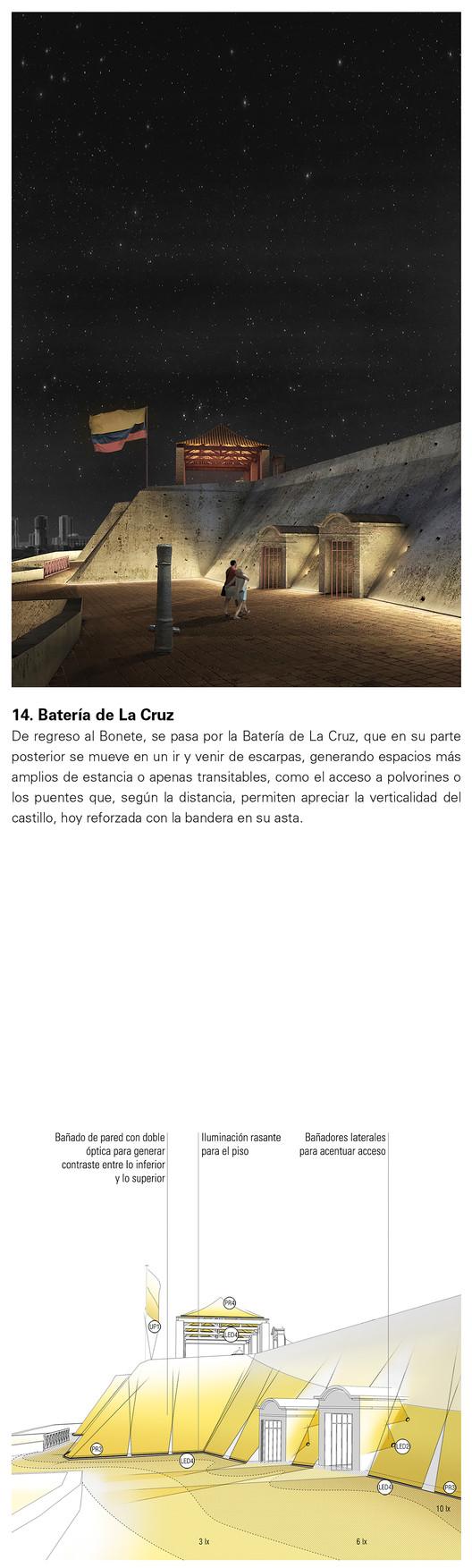 Batería de la Cruz. Image Cortesía de Consorcio Arquitectura y Espacio Urbano + Lightcube