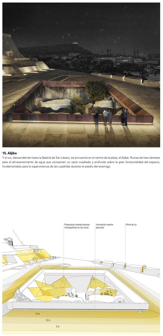 Aljibe. Image Cortesía de Consorcio Arquitectura y Espacio Urbano + Lightcube