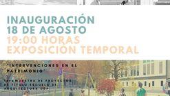 Intervenciones en el Patrimonio / Escuela de Arquitectura UDP, Santiago de Chile