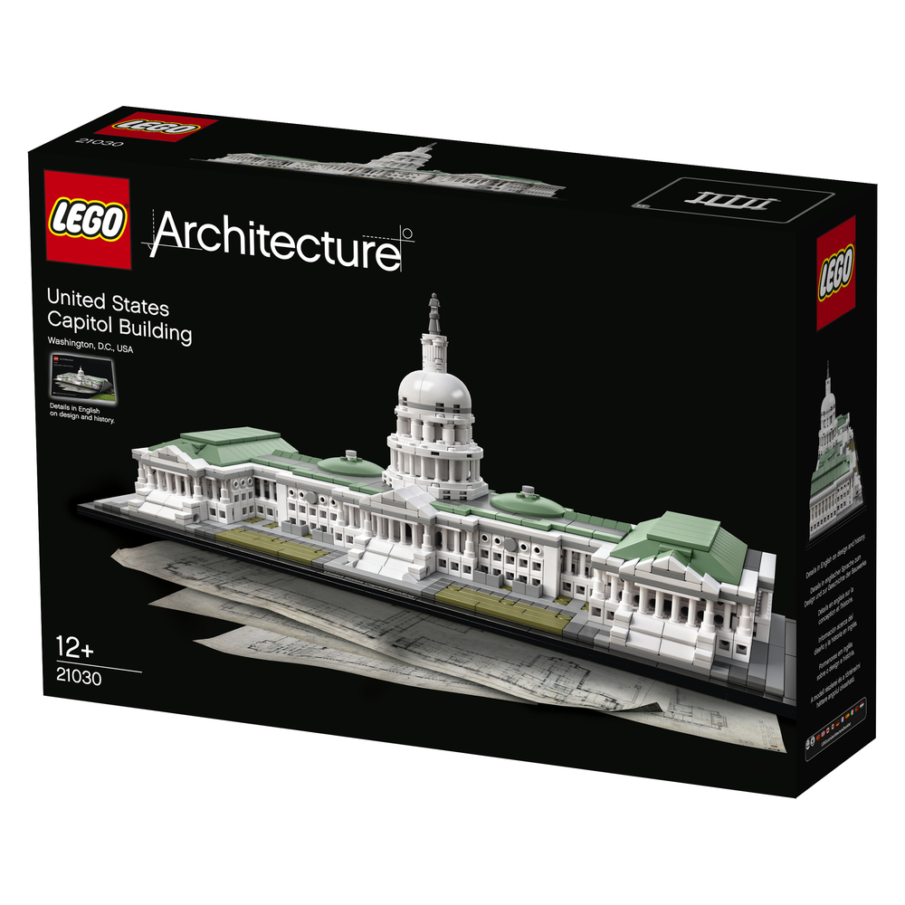 Gallery of the latest lego architecture set the u s for Architecture lego