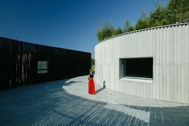 Visitor Center for Architectural Miniatures Park  / Laboratory of Architecture #3, © Nakanimamasakhlisi