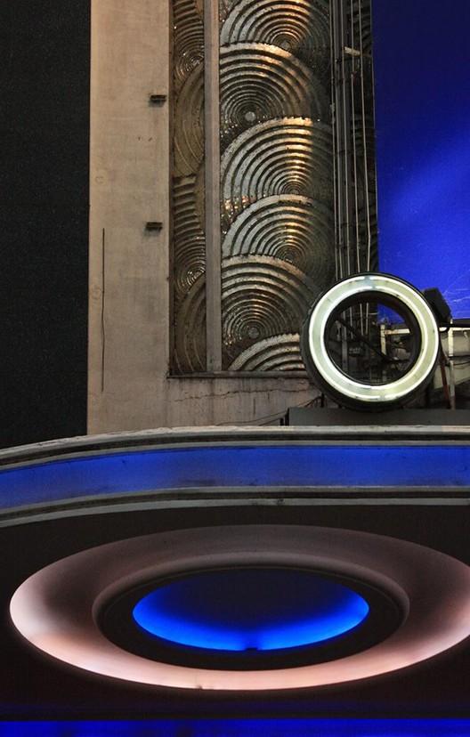 """Jorge Bagnuoli - Premio Eje Art Deco Porteño 2015 """"Composición de círculos"""". Image Cortesía de AdbA"""