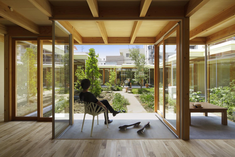 Internal Courtyard Garden Patio
