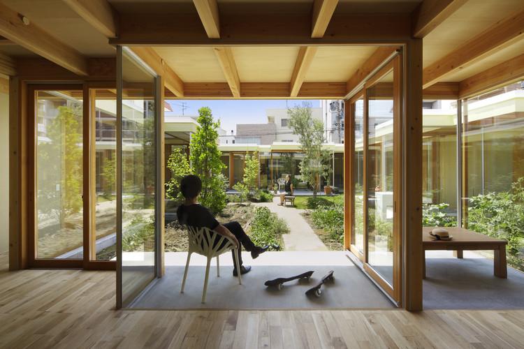 Casa Patio Nagoya / Takeshi Hosaka Architects, © Koji Fujii / Nacasa & Partners Inc.