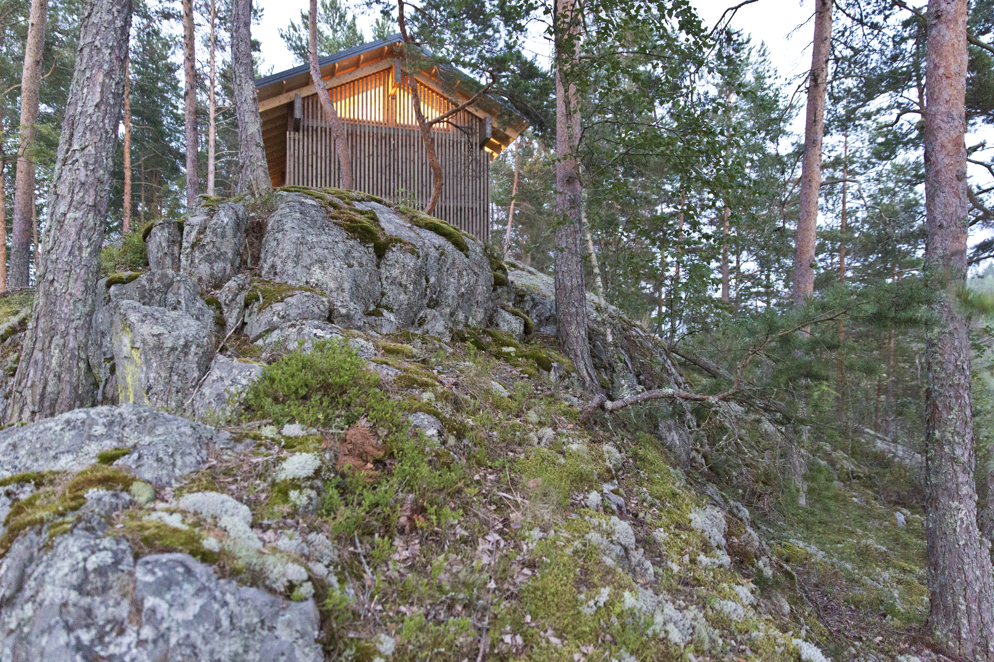 Gallery of cabin k studio kamppari 5 for 300 lake terrace