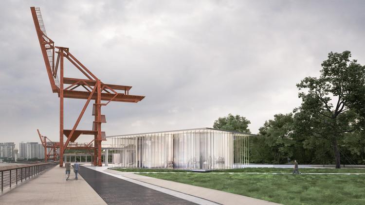 Render de Cloud Pavilion por SHL. Imagen cortesía de Schmidt Hammer Lassen Architects