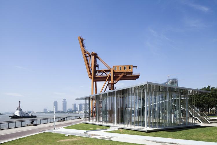 Cloud Pavilion terminado. Fotografía por Peter Dixie. Imagen cortesía de Schmidt Hammer Lassen Architects