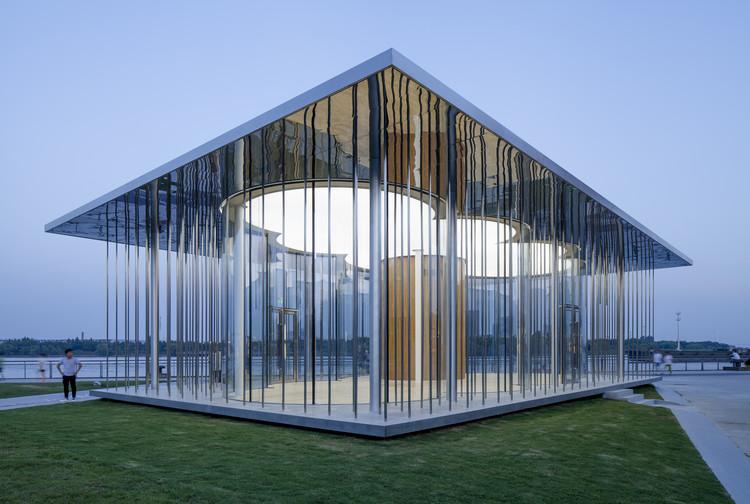 Schmidt Hammer Lassen Architects diseña 'Cloud Pavilion', un pabellón flotante en la costa de Shanghai, Fotografía por Peter Dixie. Imagen cortesía de Schmidt Hammer Lassen Architects