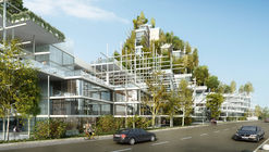 Architensions Shortlisted for Civic Center Design Using Local Vegetation in Sydney, Australia