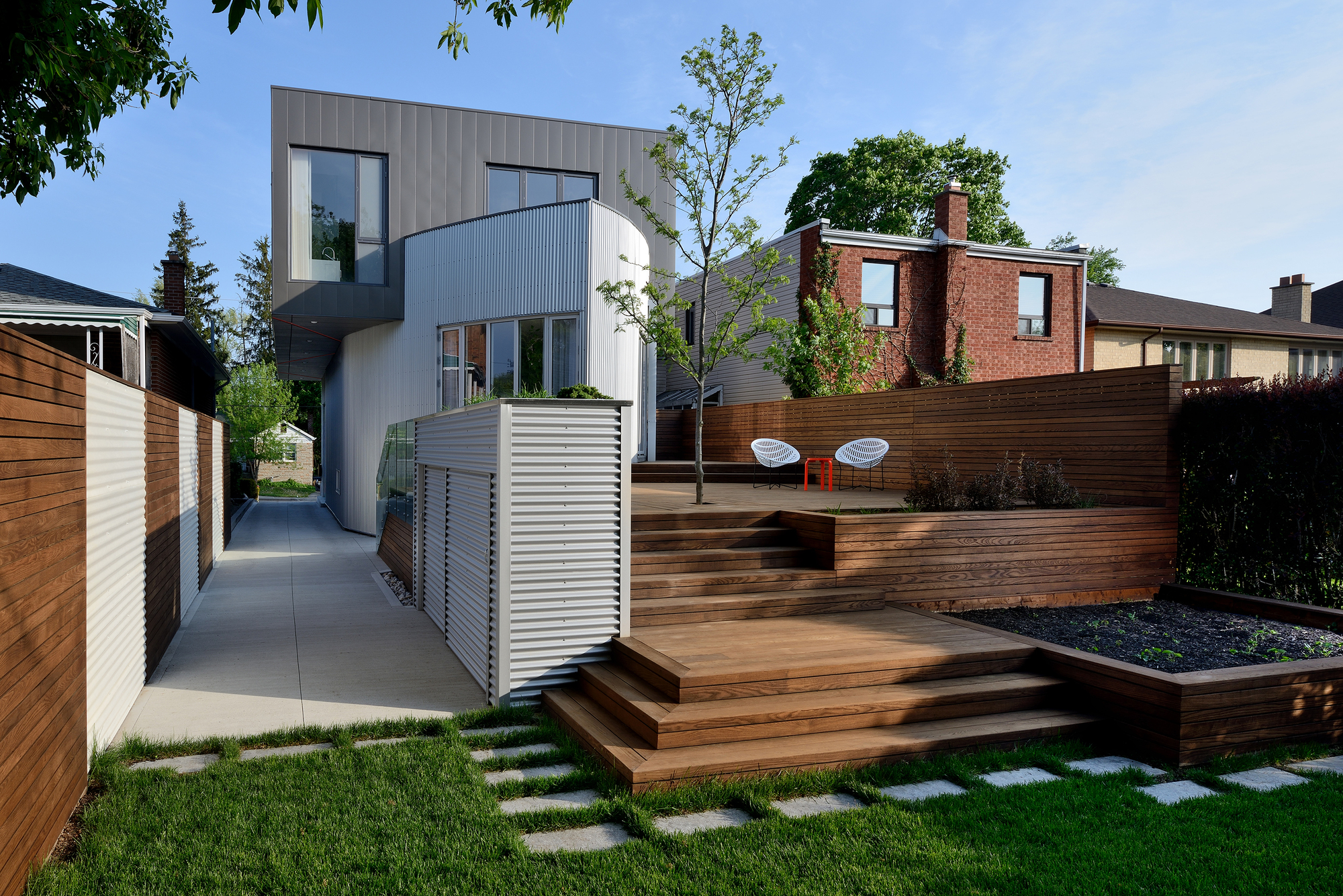 Gallery of the moos home tampold architects 3 At home architecture gordes 84