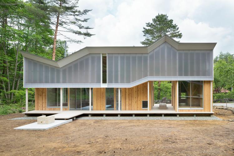 Shed Roof House / Hiroki Tominaga-Atelier, © Takumi Ota