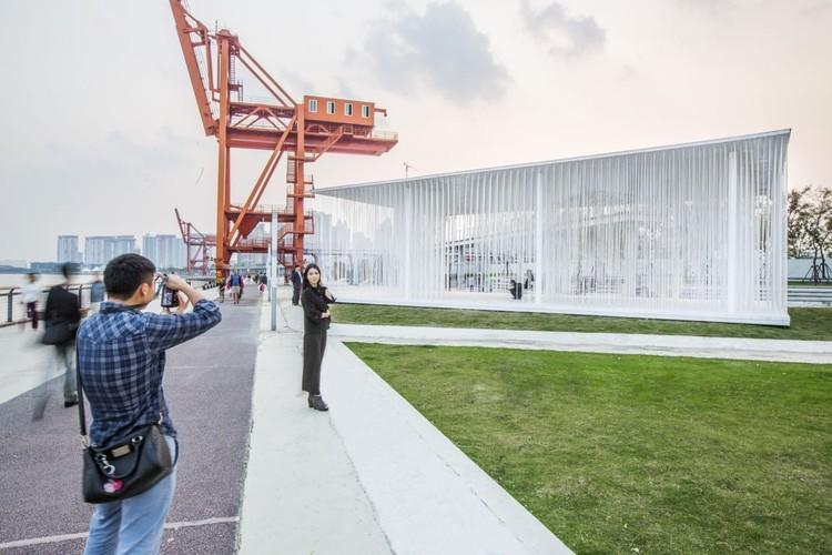 Cloud Pavilion, 2013. Imagen cortesía de Schmidt Hammer Lassen Architects
