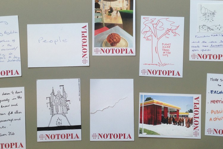 Submit Your Ideas to The Architectural Review to Stop the Spread of #Notopia, Courtesy of The Architectural Review