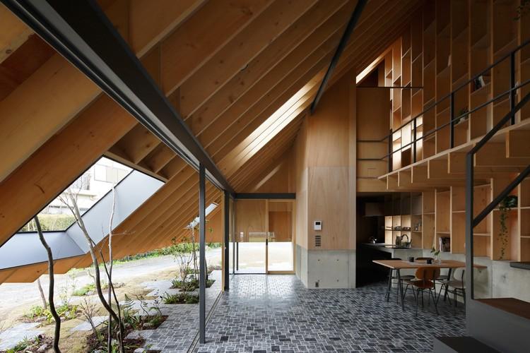Eaves House  / mA-style architects, © Kai Nakamura