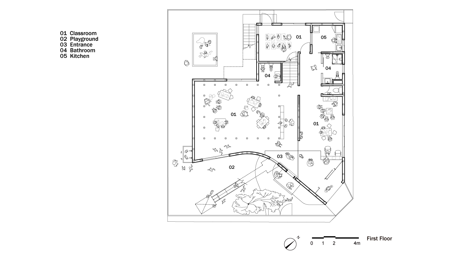 Clover House,Plan 1