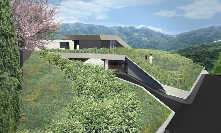 Casa club diseñada por Tsao & McKown. Imagen cortesía de Tsao & McKown