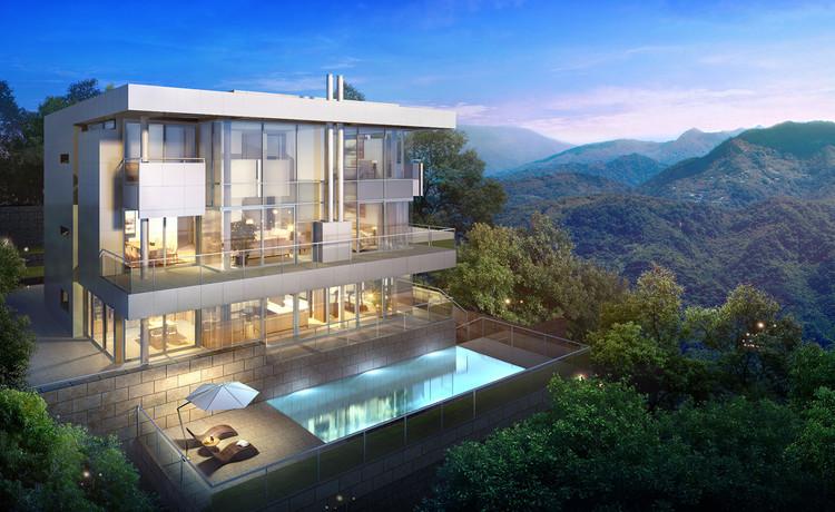 Richard Meier colabora en nuevo proyecto de Tsao & McKown en Taiwán, Diseño de Richard Meier. Imagen cortesía de Tsao & McKown