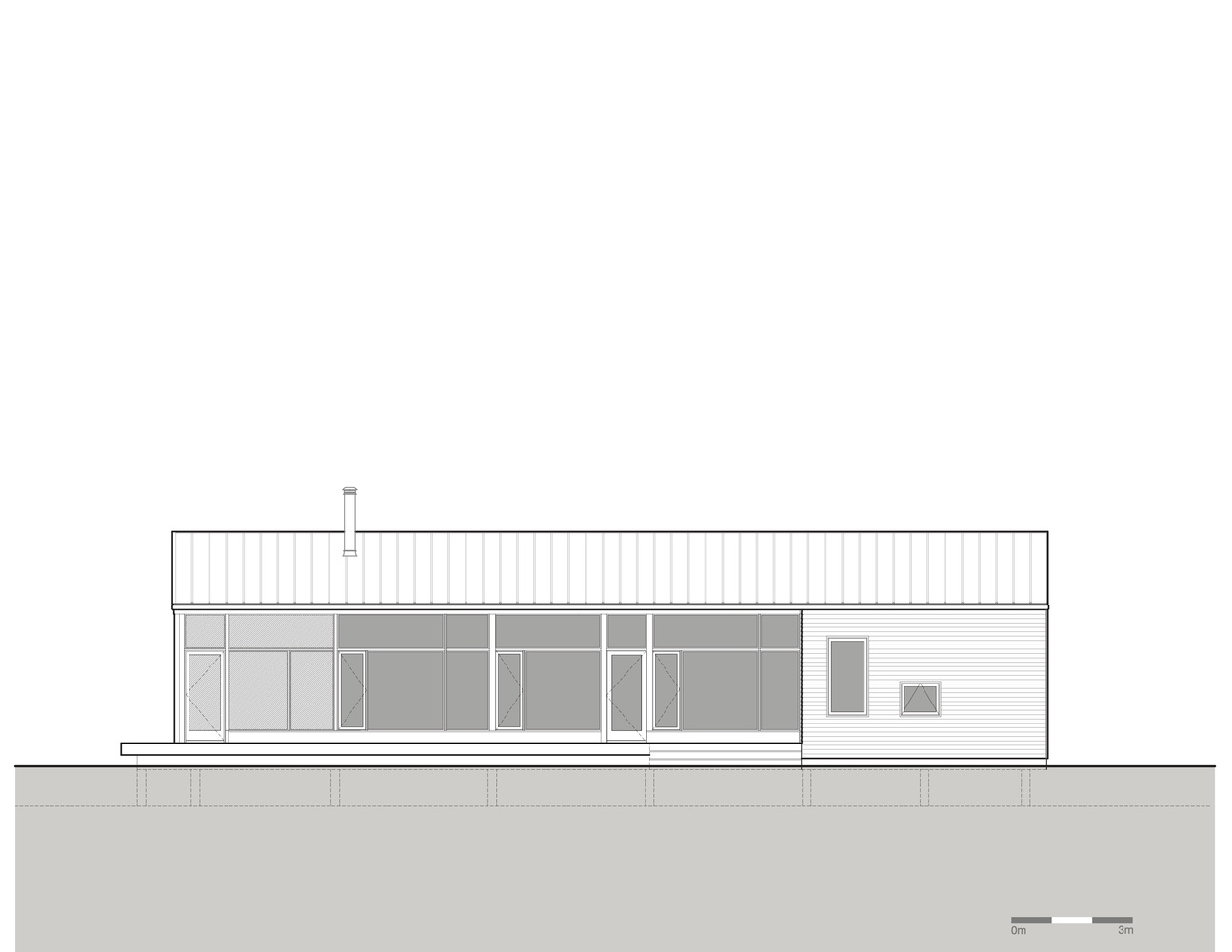 Gallery of lockeport beach house nova tayona architects 25 for Beach house elevations