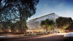 Chipperfield enfrenta críticas por reconversión de la embajada de Estados Unidos en Londres