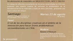Presentación Libro REHACER LO DES(H)ECHO: Revalorización de Materiales en Arquitectura, Arte y Diseño / Santiago de Chile