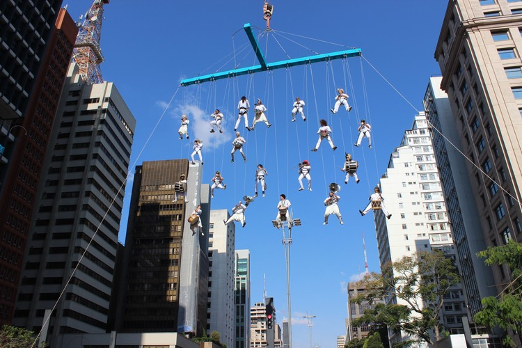 Aerogroove hizo que la música local volara por sobre las calles de Río en las Olimpiadas, Cortesía de Cia.k