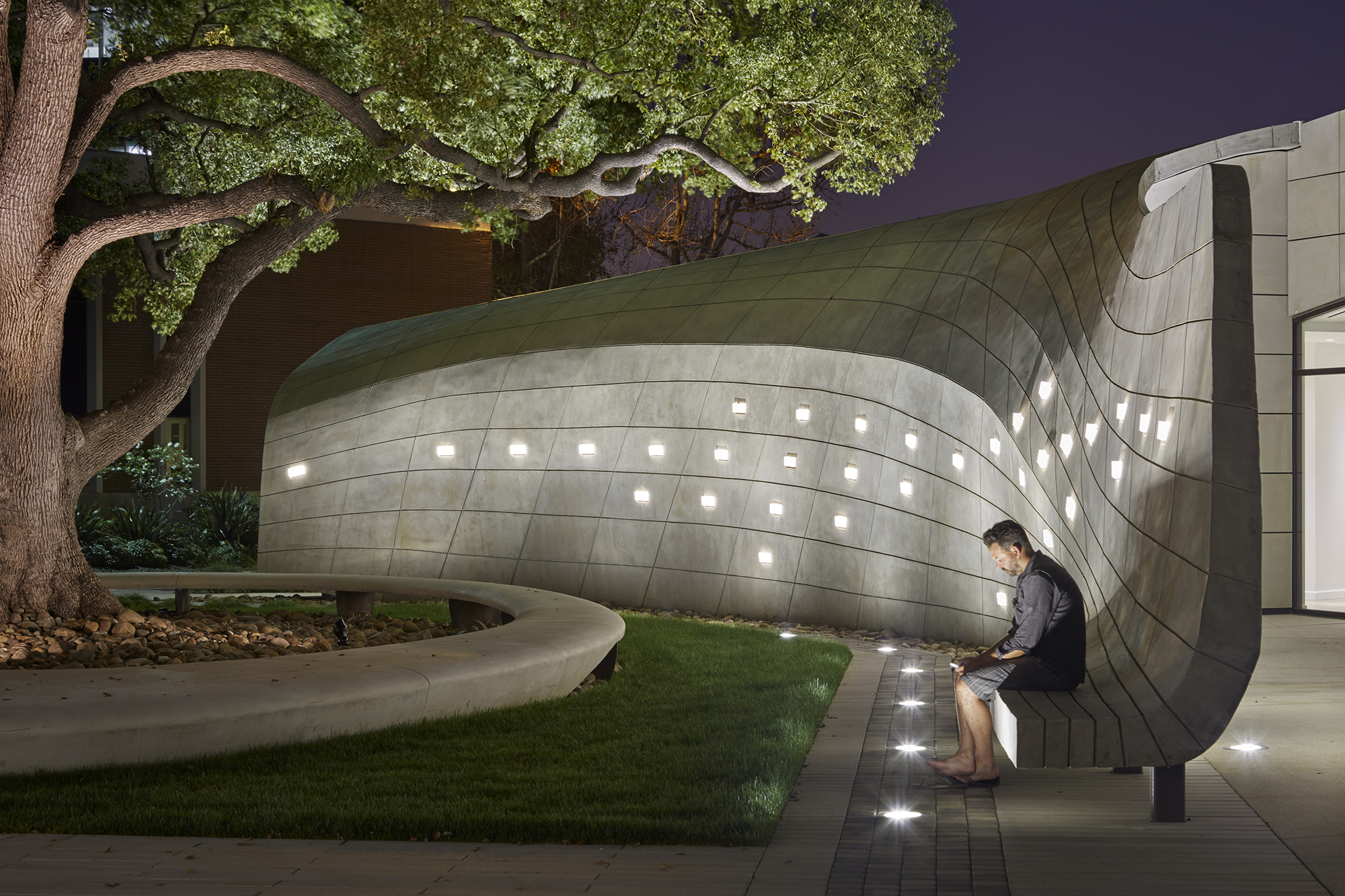 Gallery of kaplan family pavilion at city of hope for Architecture kapla