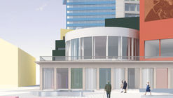 Norell/Rohde Propose a Lively and Colorful Volumetric Composition for the Skellefteå Kulturhus