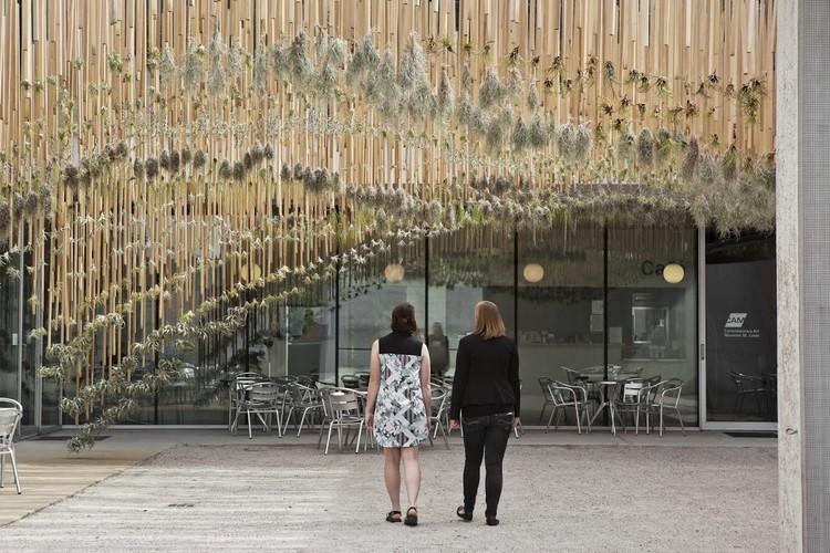 Green Air, un jardín aéreo escultural, Cortesía de Nomad Studio