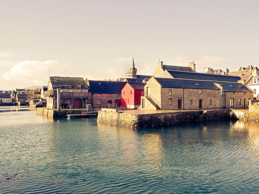 Pier Arts Centre, Stromness, Orkney. Image © Crown Copyright: Historic Environment Scotland. Licensor canmore.org.uk
