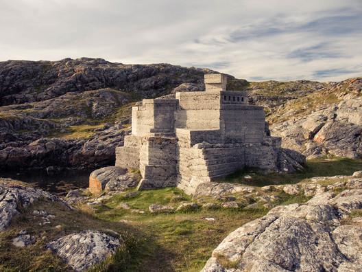 Hermit's Castle, Achmelvich, Loch Inver, Sutherland. Image © Barnabas Calder
