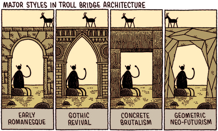 Cortesía de Tom Gauld