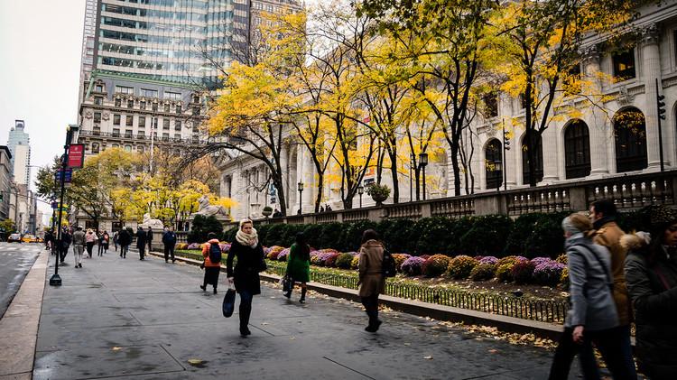 El poder económico y social de las ciudades caminables, Nueva York, EE.UU. Image © Flickr Usuario: Jeffrey Zeldman. Licencia CC BY-NC-ND 2.0