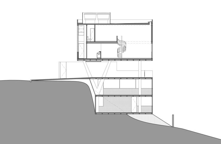 Estudios Terra / Arquitetos Associados: Corte