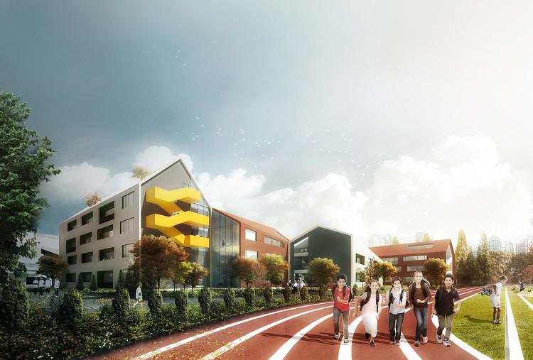 LYCS Architecture diseñan un colegio inspirándose en el dibujo de un niño, Cortesía de YCS Architecture