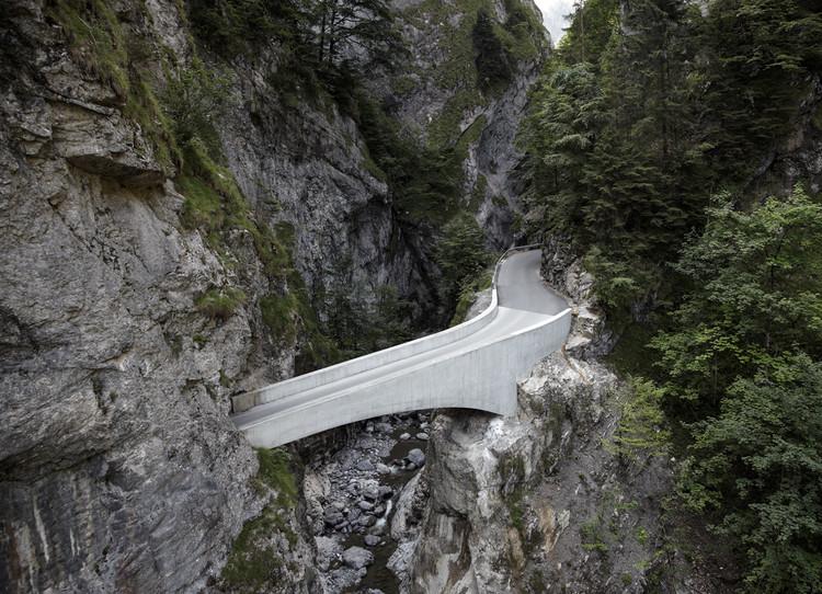 Puente Schaufelschlucht / Marte.Marte Architects, Cortesía de Marte Marte Architects