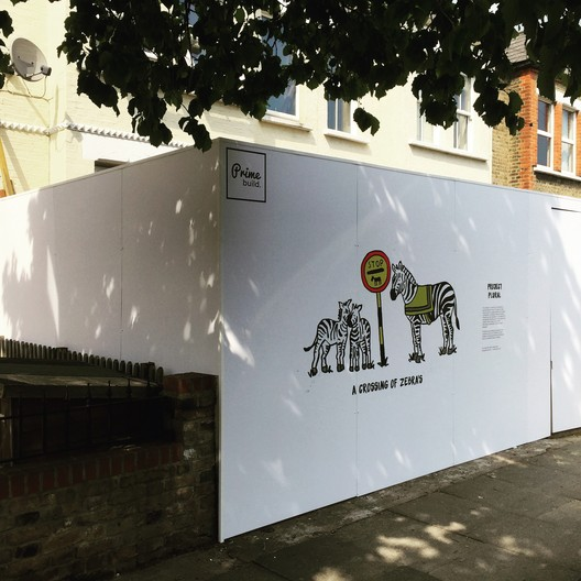 Could Development Hoardings Be the New ?Canvas for London?""