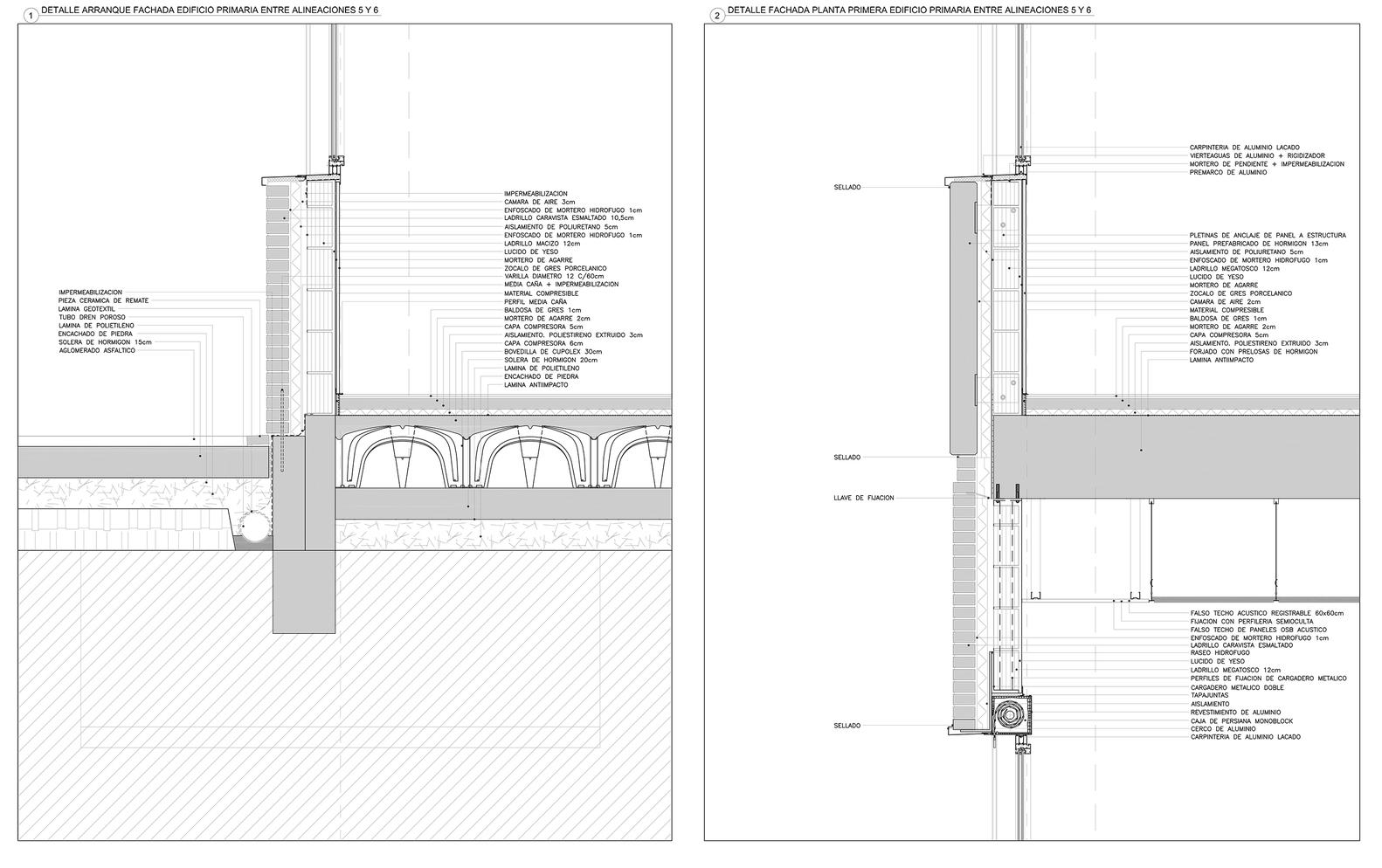 Gallery of mariturri school a54 arquitectos 24 for Medidas en la arquitectura