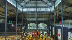 Mercado cubierto Secrétan / Architecture Patrick Mauger