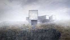 Reiulf Ramstad + Dualchas diseñan centro de visitantes en remota isla de Escocia