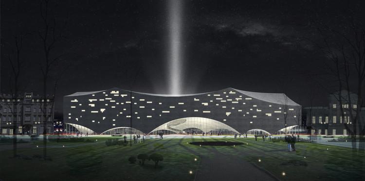 'Domos y Circo', la propuesta de arquitectos chinos para Moscú, Cortesía de Hang Guo y Shanshan Li