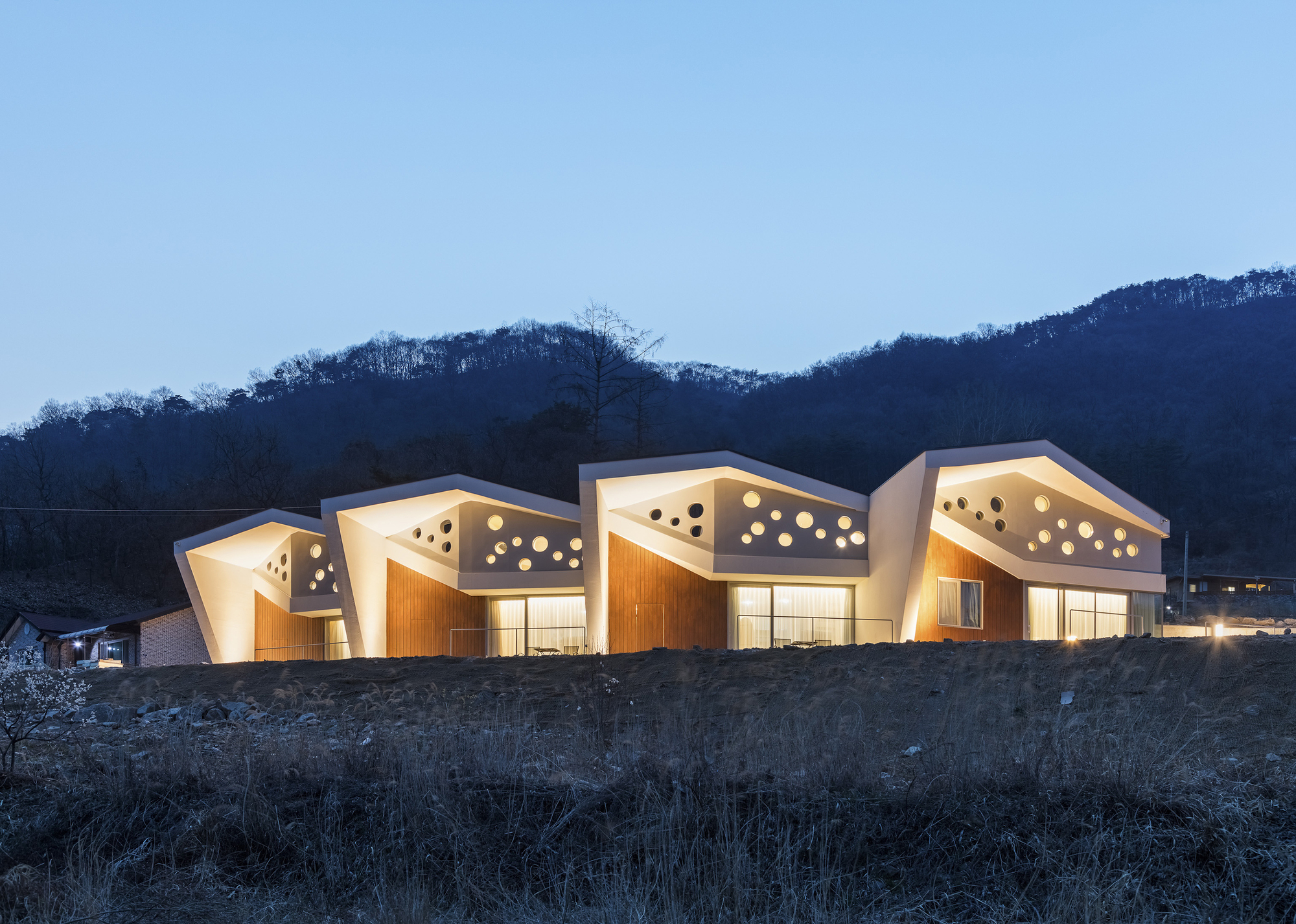 Gallery of interlaced folding hg architecture uia for Architecture company